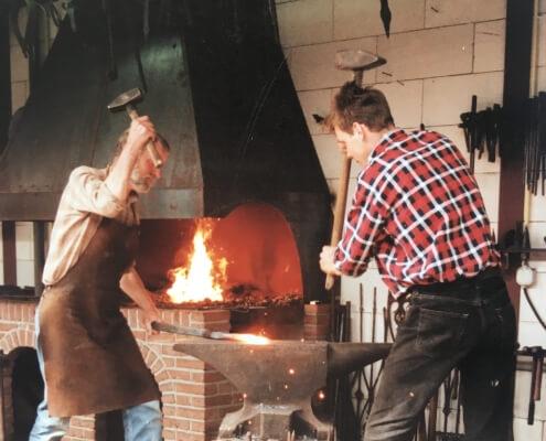 Siersmederij van Baars Asten, gietijzer smederij